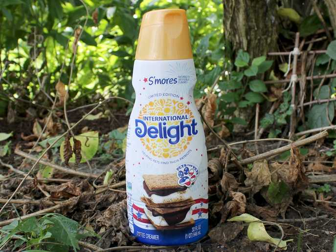 International Delight S'mores coffee creamer