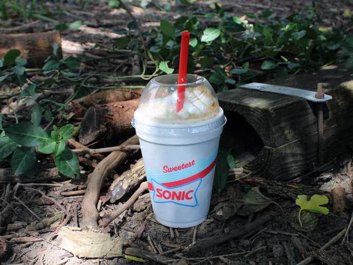 Sonic Toasted S'mores Shake