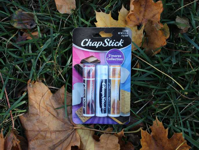 ChapStick S'mores Collection packaging